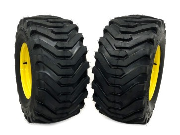 Part #39610 - John Deere Pneumatic Tire Assemblies 26x12.00-12 Yellow
