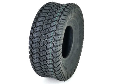 (1) OTR 15x6.00-6 Grassmaster Tire 4 Ply for Lawn and Garden Tractor