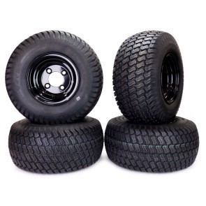 Part #18007-4 - Golf Cart Turf Wheel and Tire Assemblies 18x8.50-8