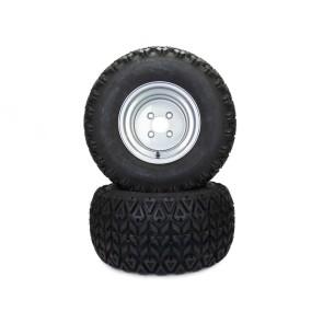 Part #350M60530 - Hustler All Terrain Rear Tire Assemblies 22x11.00-10