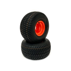 Part #60000 - Bad Boy Pneumatic Rear Tire Assemblies 20x10.50-8 Orange