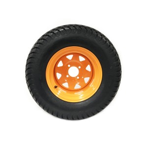 Part #81850 - Scag Pneumatic Rear Tire Assembly 24x12.00-12 Orange