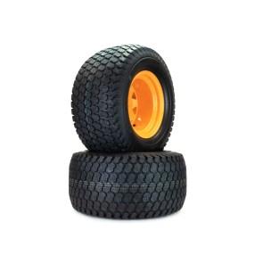 Part# K81850 Scag Turf Tiger Kenda Super Turf Tire Assemblies 24x12.00-12 Orange
