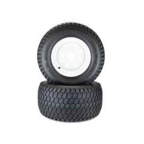 Part# K98972 Toro/Exmark Kenda Super Turf Tire Assemblies 24x12.00-12 White