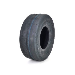 (1) OTR 11x4.00-5 Smooth 4 Ply Tire for Lawn Mower - Garden Tractor