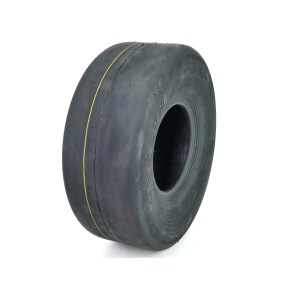 (1) OTR 15x6.00-6 Smooth Tire 8 Ply for Lawn Garden Tractor and Zero Turn