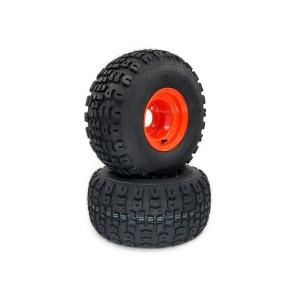 Part #TT60050 - Bad Boy Terra Trac Pneumatic Rear Tire Assemblies 20x10.00-8 Orange