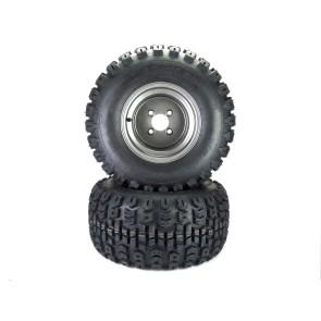"""Part# TT72210 Terra Trac Tire Assemblies 22x11.00-10 Gravely Ariens HD ZX Apex Zenith 52"""" - 60"""" Dark Gray"""